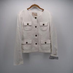 Banana Republic Pockets Button Down Blazer Jacket